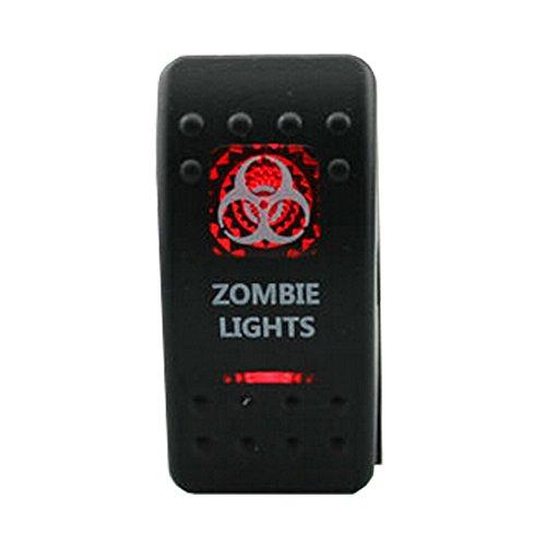 HOTSYSTEM Zombie Lights Rocker Waterproof HS-C01050B1-W3 photo